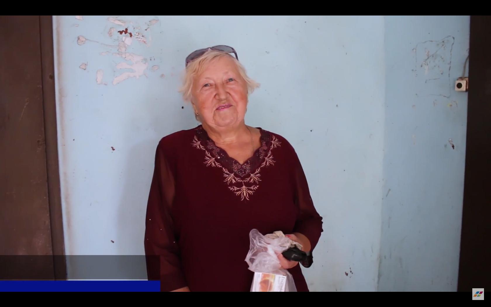 Благотворительный проект от Центра Биржевых Технологий город Днепр – помощь пенсионерке Вере Борисовой
