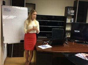В среду 23 апреля днепропетровском офисе Центра Биржевых Технологий прошел семинар по повышению финансовой грамотности для населения. - 5 фото