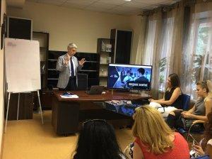 Семинар в днепровском офисе Центра Биржевых Технологий на тему: финансовая грамотность и правильное инвестирование. - 8 фото