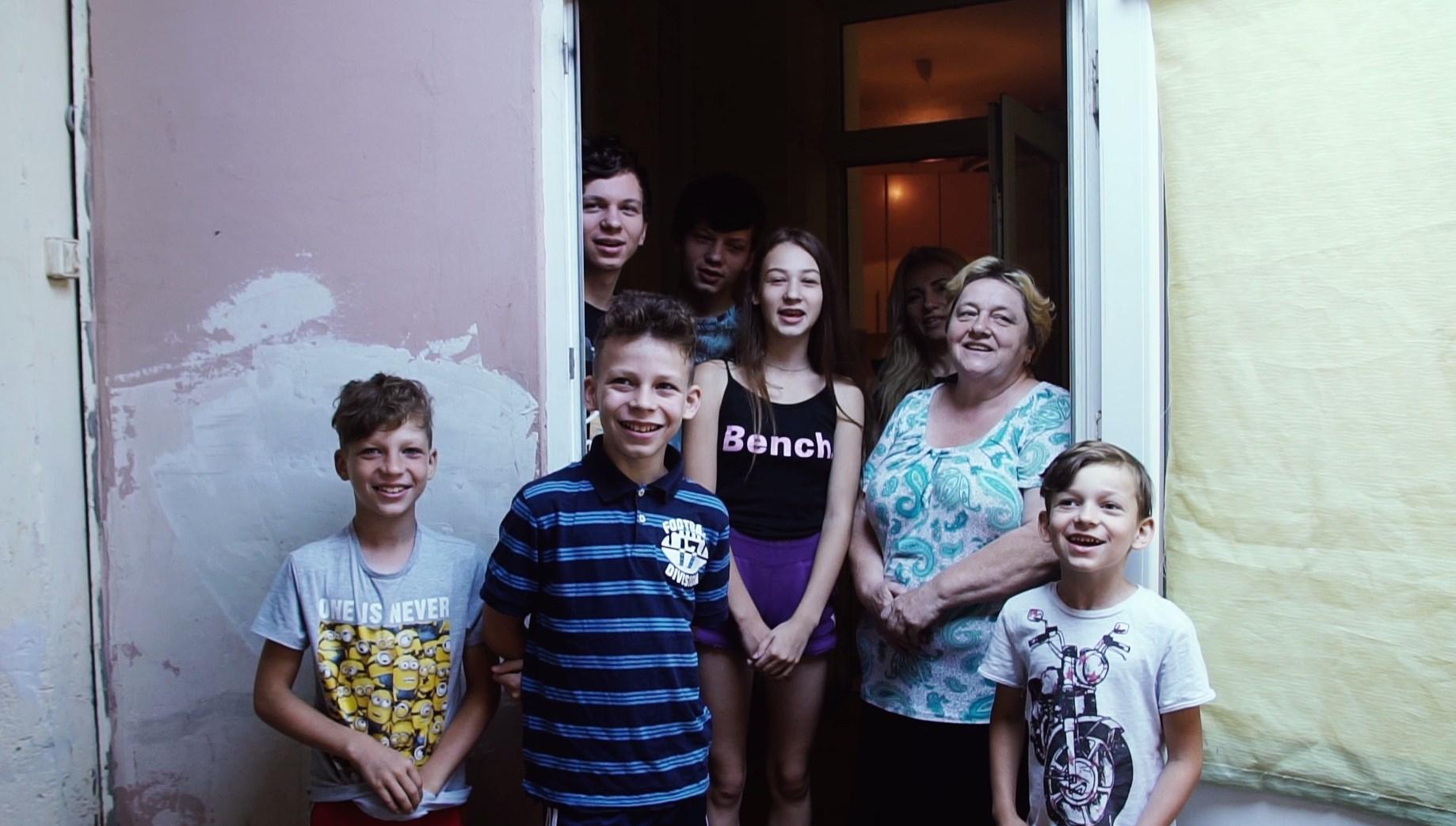 Благотворительный проект от ЦБТ (Львов): помощь многодетной семье Ганич