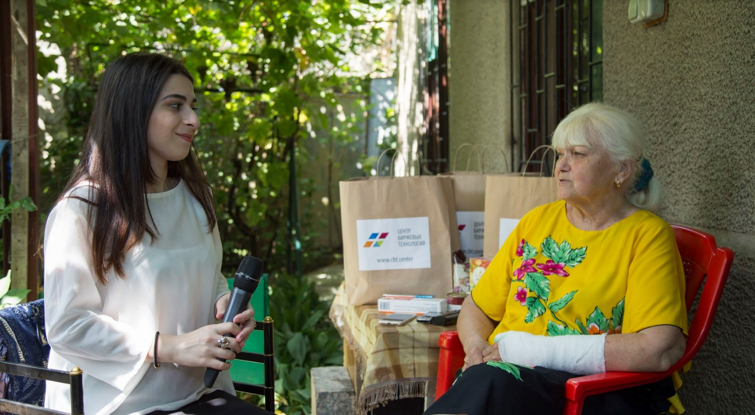 Центр Биржевых Технологий оказал помощь одинокой пенсионерке