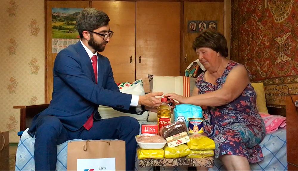 Благотворительность (г. Николаев): помощь пенсионерке Зое Николаевне