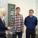 Вручение сертификатов выпускникам ЦБТ Беластиум в Центре Биржевых Технологий (Львов) - 2 фото