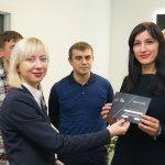 Вручение сертификатов выпускникам ЦБТ Беластиум в Центре Биржевых Технологий (Львов) - 4 фото