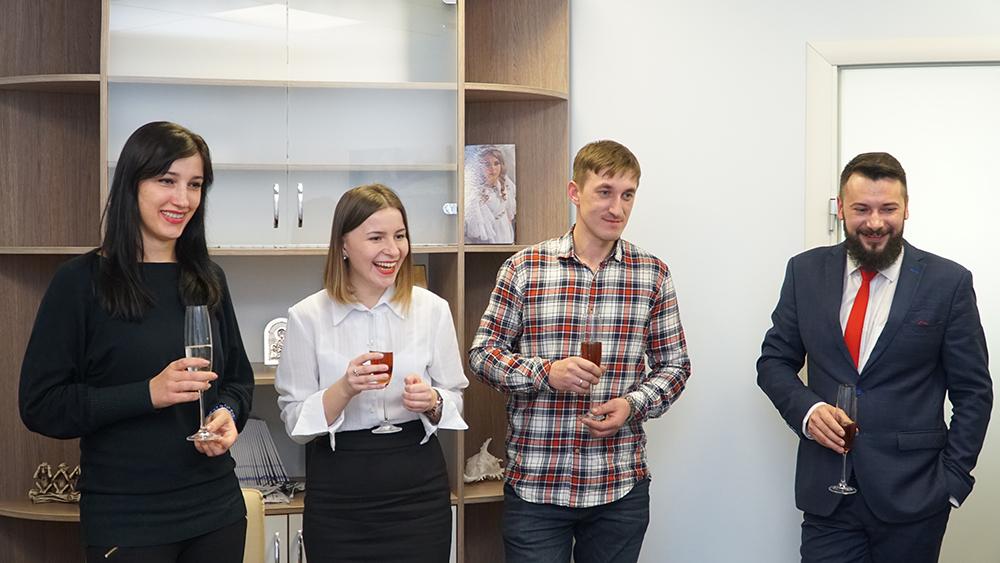Вручение сертификатов выпускникам ЦБТ Беластиум в Центре Биржевых Технологий (Львов) - фото 1