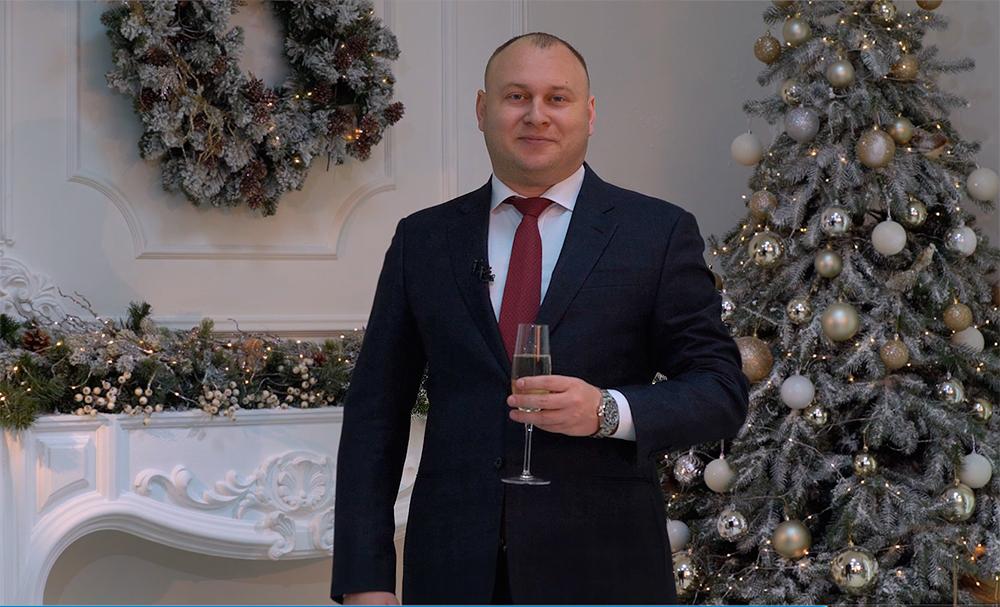 Центр биржевых Технологий: поздравление с Новым годом Богдана Троцько