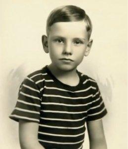 Уоррен Баффет в детстве