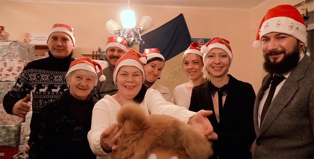 ЦБТ-Львов устроил праздник для детей в День святого Николая