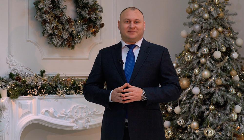 Привітання голови групи компаній ЦБТ Богдана Троцько з Різдвом