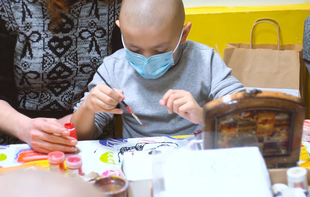 ЦБТ-Київ: благодійна допомога онкохворим дітям в Національному інституті раку - фото 1