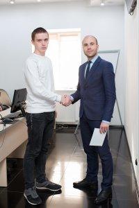 В ЦБТ-Черновцы состоялось вручение сертификатов очередной группе выпускников - 5 фото