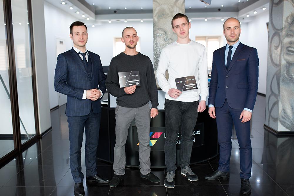 В ЦБТ-Чернівці відбулося вручення сертифікатів черговій групі випускників