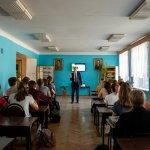 Всеволод Мішурін (ЦБТ-Дніпро) розповів студентам, як досягти успіху - 5 фото