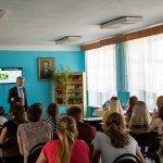 Всеволод Мішурін (ЦБТ-Дніпро) розповів студентам, як досягти успіху - 6 фото