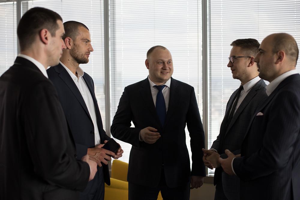 Богдан Троцько, глава ГК ЦБТ на Международном конгрессе по инновациям в инвестировании в Польше