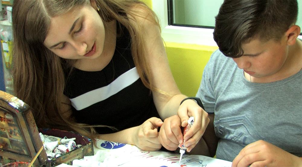 Команда ЦБТ-Киев помогла волонтерам в работе с онкобольными детьми