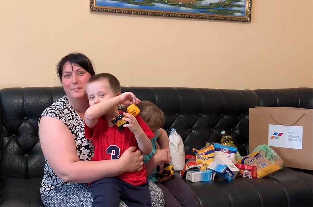 Благодійний проект від ЦБТ-Чернівці: допомога багатодітній сім'ї