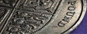 Обвал английского фунта по отношению к немецкой марке
