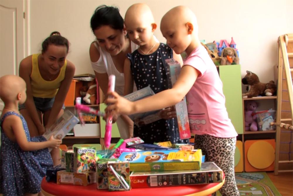 Благодійний проект ЦБТ-Київ — допомога реабілітаційному центру для онкохворих дітей «Дача»