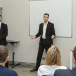 Вручение сертификатов о прохождении курса CBT-Belastium в Киеве - 3 фото