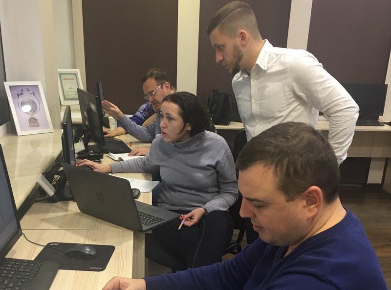 """Клиенты компании в Одессе посетили практикум по курсу """"ЦБТ Беластиум"""" - 2 фото"""