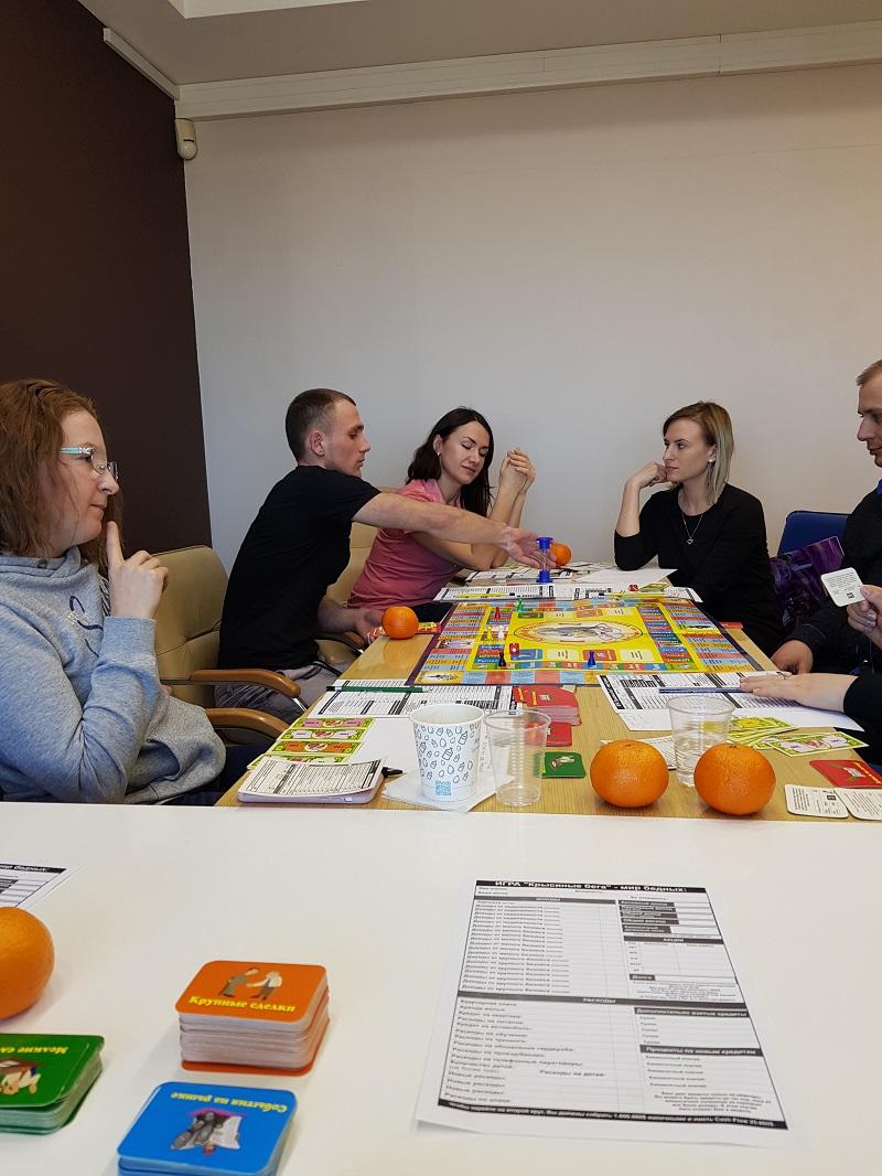 Игровой тренинг по управлению капиталом состоялся в Одессе - 3 фото