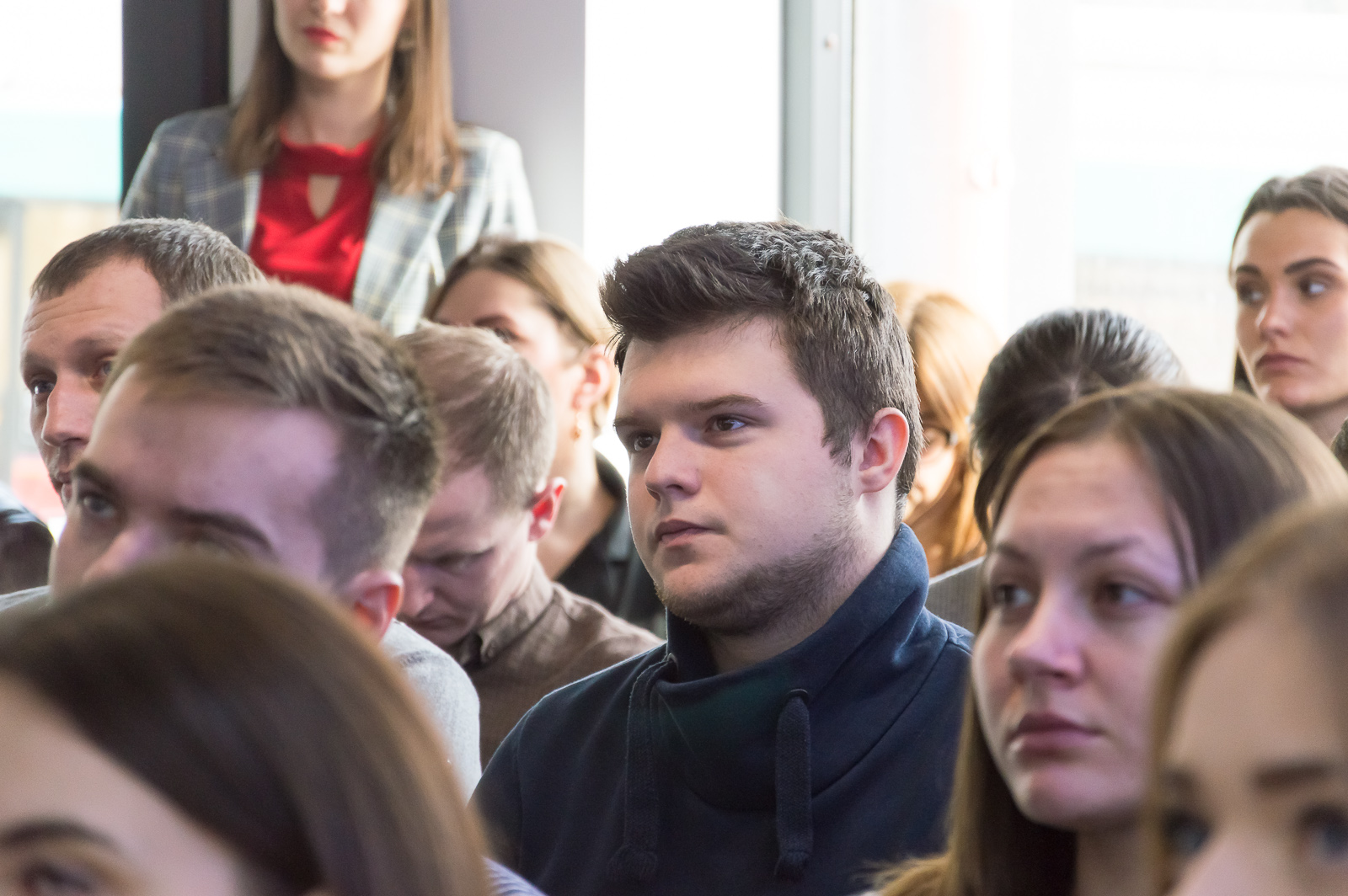 """Лекцию """"Финансовые рынки и основы биржевых технологий"""" в Черновцах посетили студенты и преподаватели МАУП - 10 фото"""