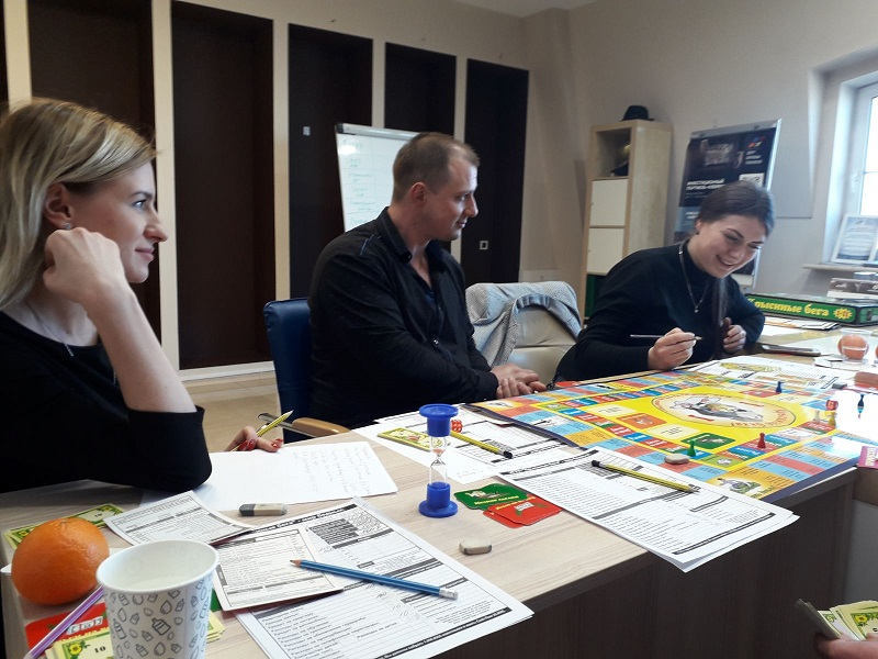 Игровой тренинг по управлению капиталом состоялся в Одессе - 4 фото