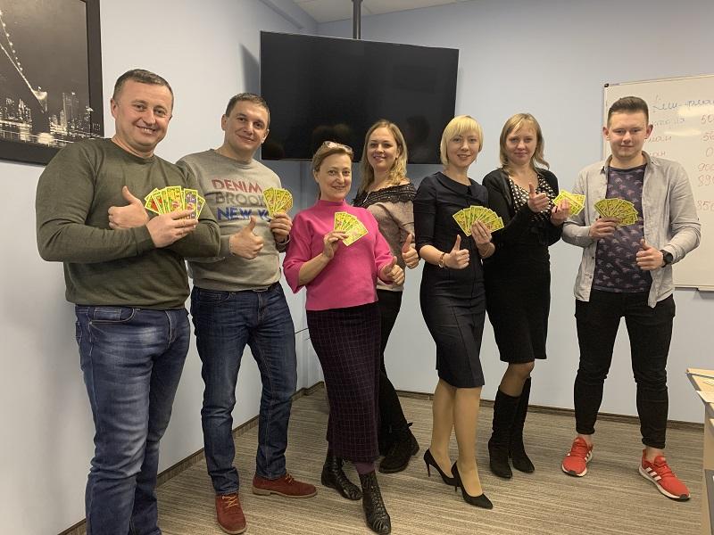 Багатіти граючи! Львівські клієнти ЦБТ тренували мистецтво управління капіталом