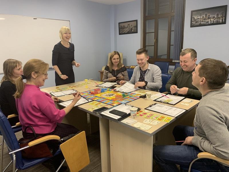 Богатеть играя! Львовские клиенты ЦБТ тренировали искусство управления капиталом - 4 фото