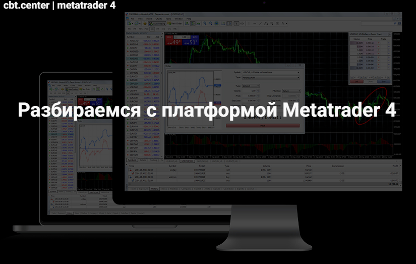 Как торговать на Метатрейдер 4?