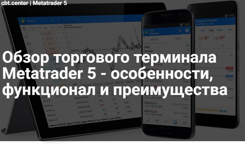 Обзор Metatrader 5